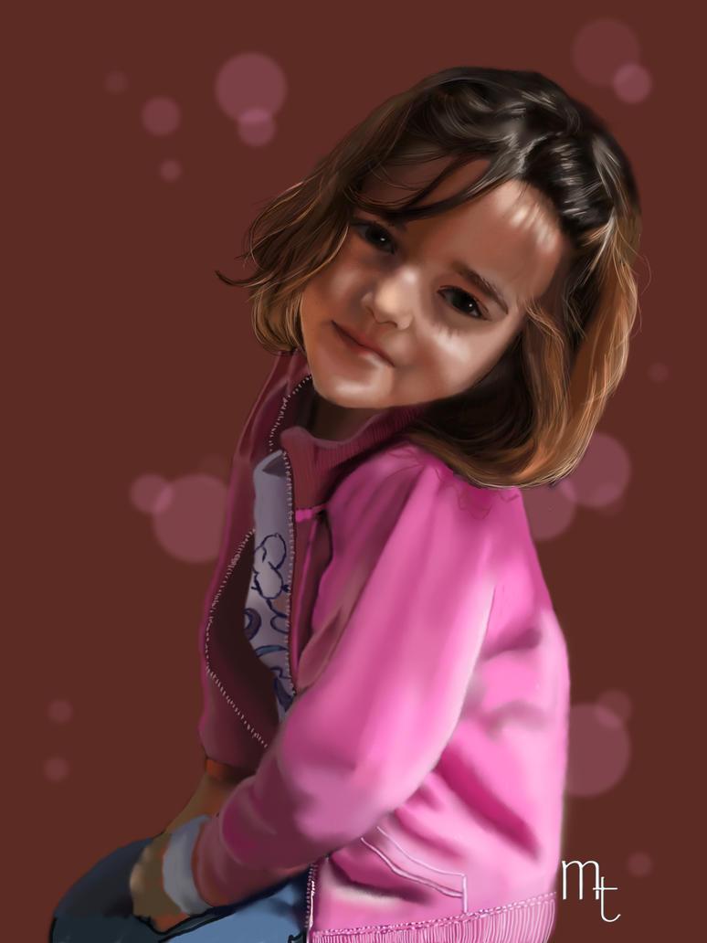 Retrato de Carla by turkill