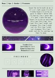 Purple Nights | Non-Core Code | F2U by LunaYing