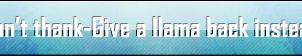 Llama stuff by prosaix