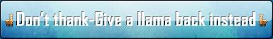 Llama stuff