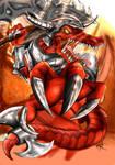 Renekton Bloodfury by Antonio