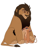 Father and Daughter by marshvall