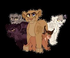 Nextgen Lion Guard by marshvall