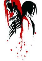 Black and Red Conflict by Puolukkapiirakka