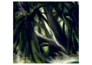 Somewhere in the Forest by Puolukkapiirakka