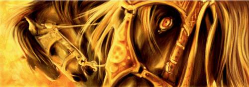 Golden Horses by Puolukkapiirakka