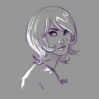 Sati sketch by MPdigitalART