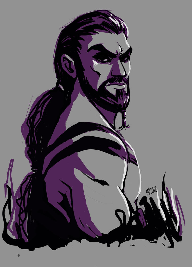 Khal Drogo by MPdigitalART