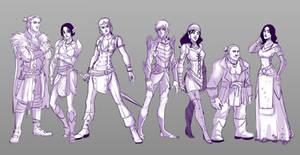 Dragon age line up