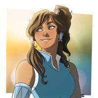 Avatar Korra by MPdigitalART