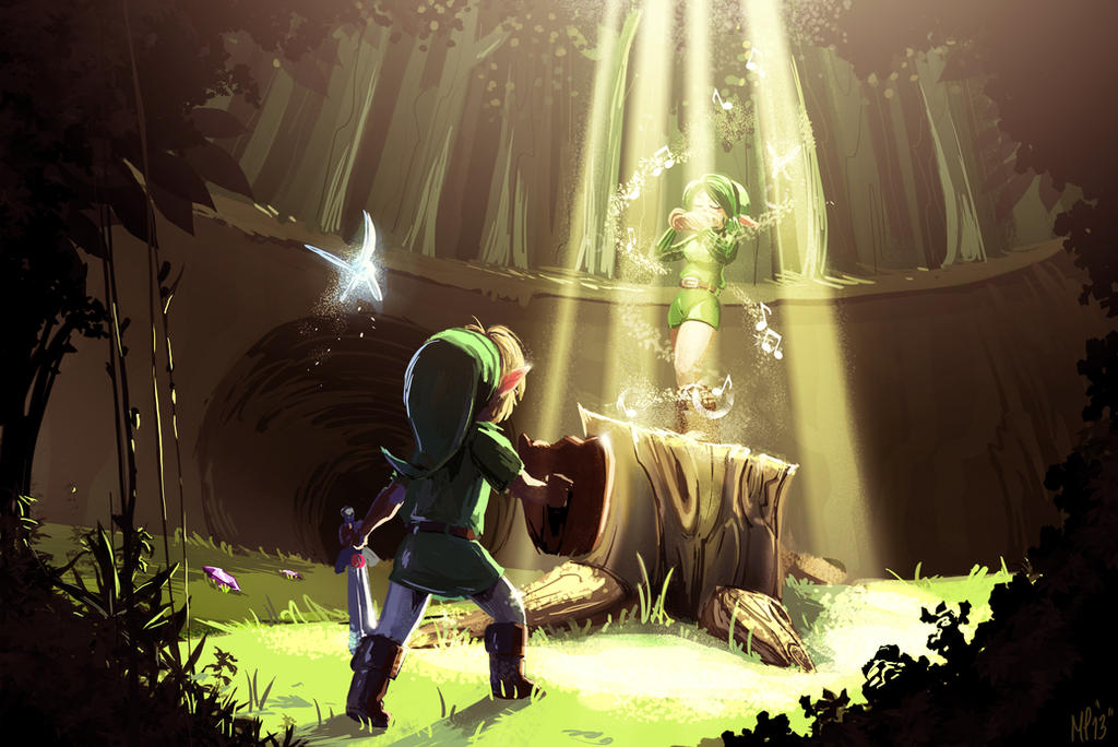 Saria's song by MPdigitalART