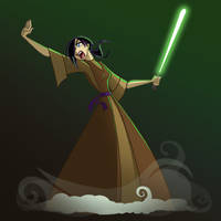 Reese the Jedi by MPdigitalART