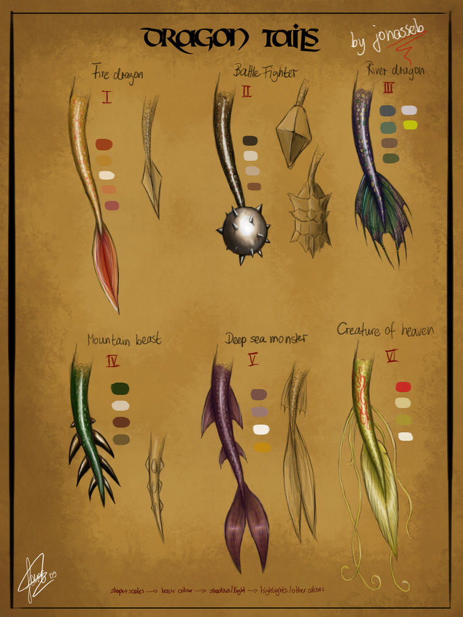 Dragon Tails In Ps By Jojoesart Dragon Tails In Ps By Jojoesart