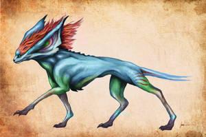 Critter - fire version by JoJoesArt