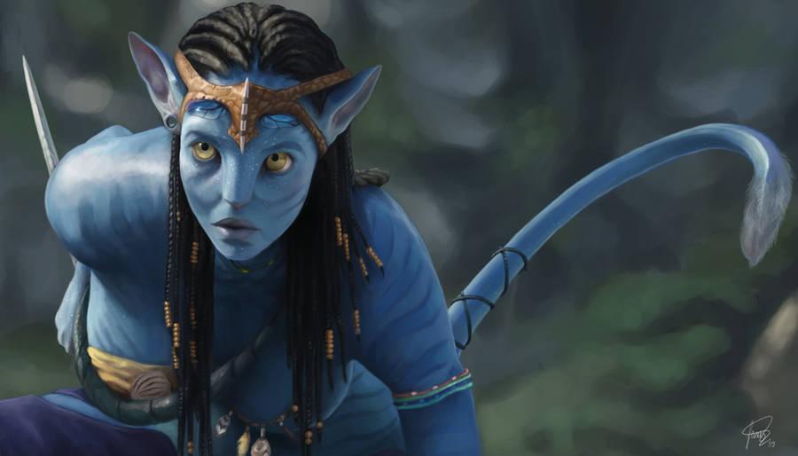 Avatar Neytiri by JoJoesArt