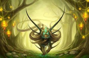God of Evanescence by JoJoesArt