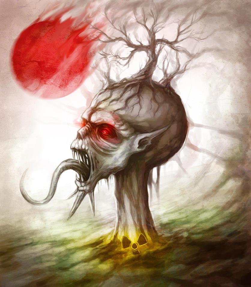 The Demon of Japan by JoJoesArt