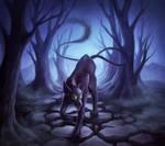Commission Goddess Of Death by JoJoesArt