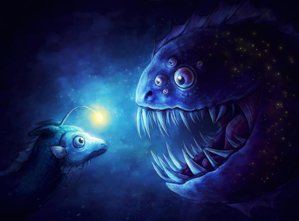 Little Waterdragon... by sanguisGelidus