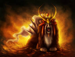 Entei by JoJoesArt