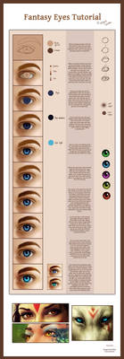 Fantasy Eyes Tutorial