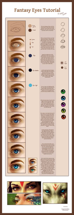 Fantasy Eyes Tutorial
