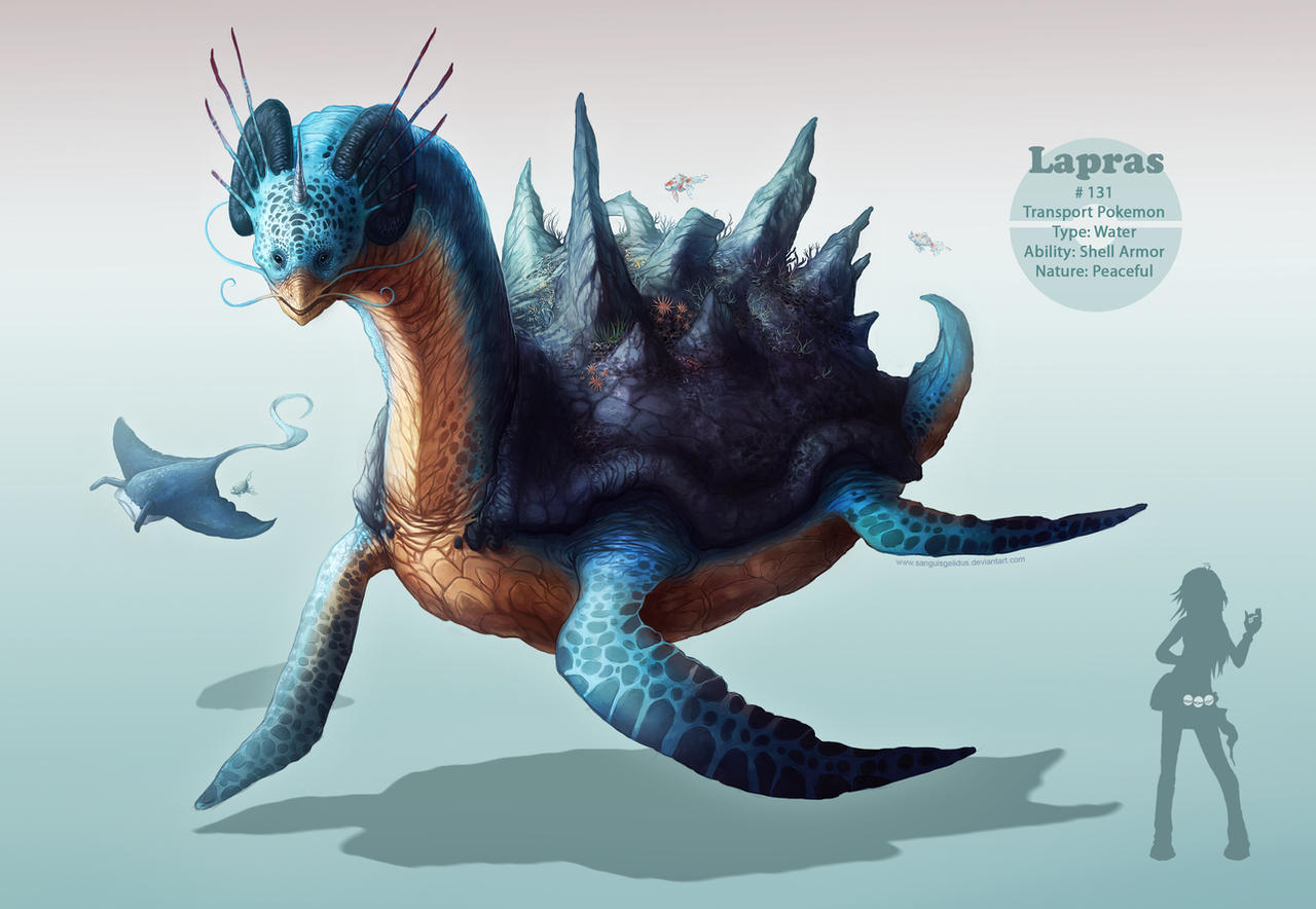 Lapras by sanguisGelidus