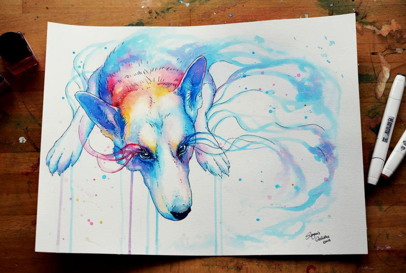 Fading into Colors by JoJoesArt