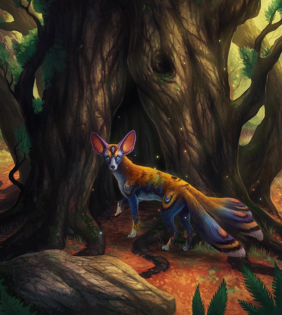 Forest Treasure by JoJoesArt