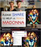 Madonna posted a picture of mine without credit