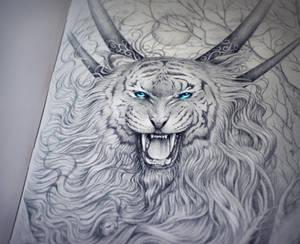 God of Evanescence Night Traditional by JoJoesArt