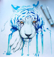 WIP - Blue Tears - by JoJoesArt