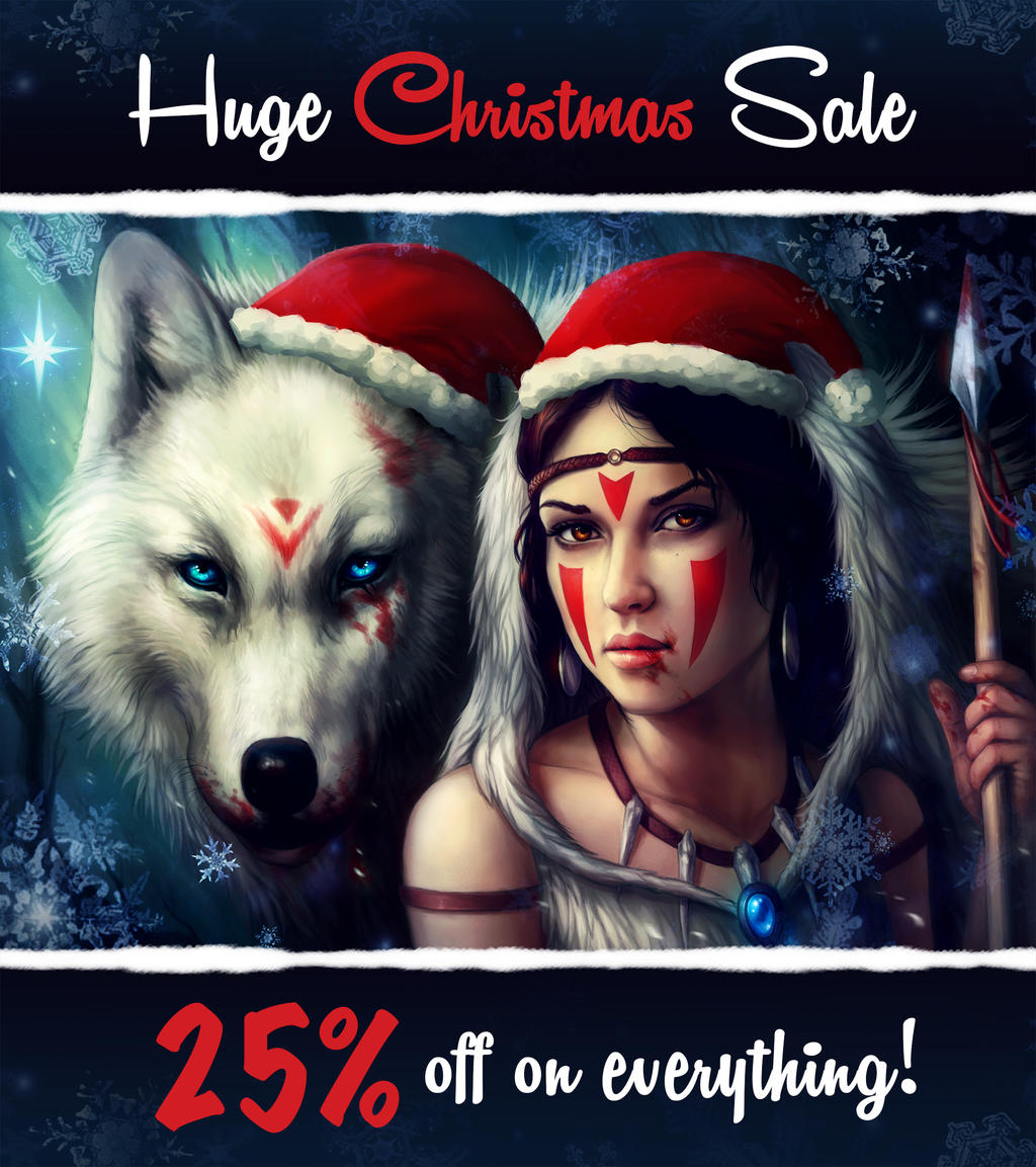Christmas Sale by JoJoesArt