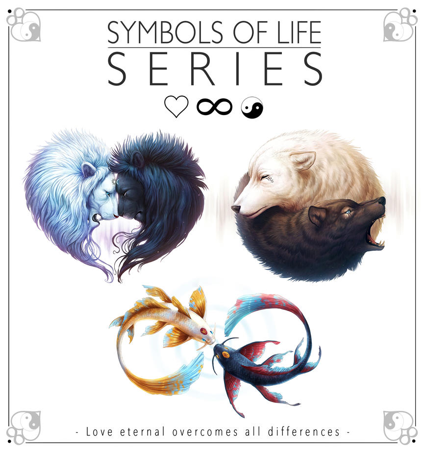 Symbols of Life Series by JoJoesArt