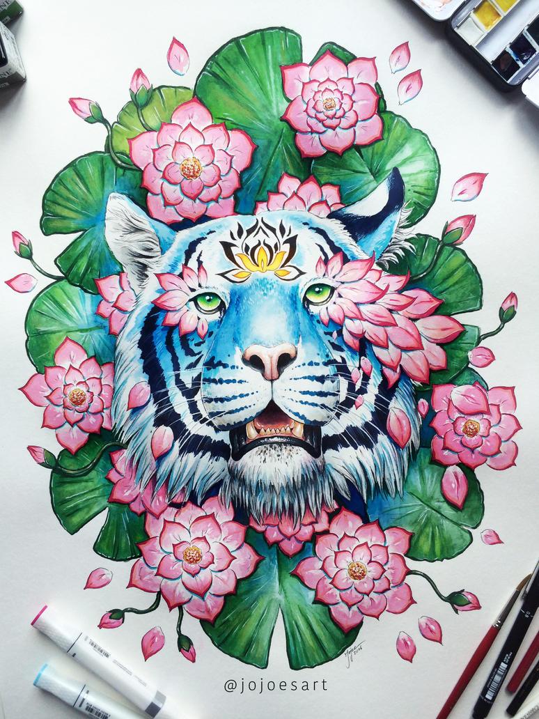 Lotus Effect by JoJoesArt