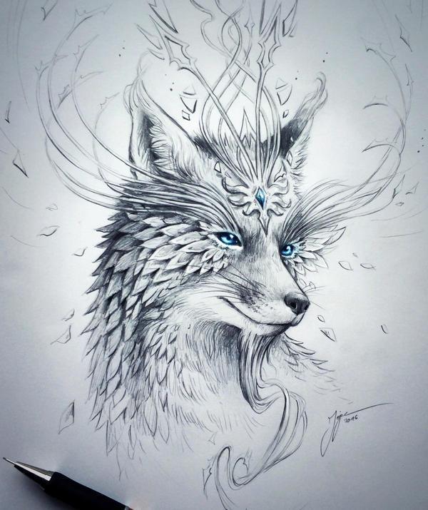 Fox by JoJoesArt