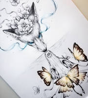 Beautiful Death by JoJoesArt