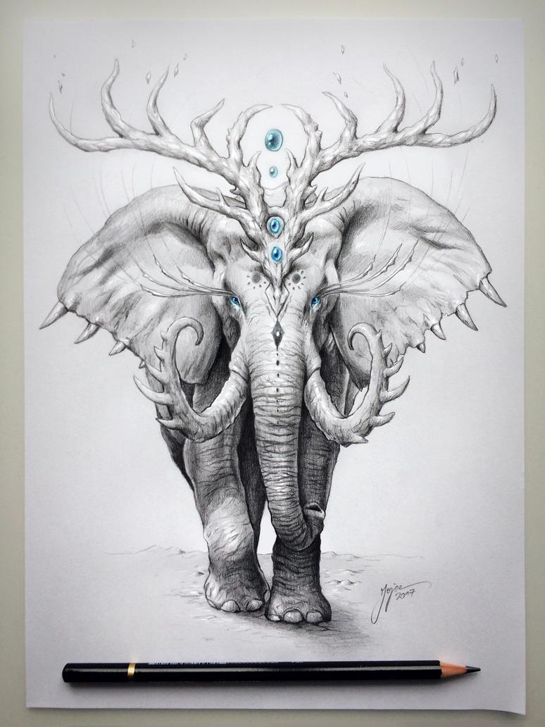 Elephant Soul by JoJoesArt on DeviantArt