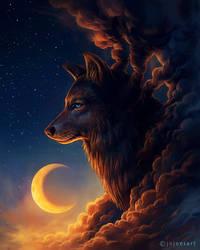 Night Guardian by JoJoesArt