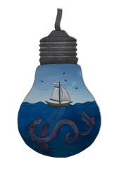 ~The sea in a bulb~ by AnitaPrime