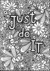 Doodles - Just Do It by AnitaPrime
