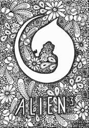 Doodles - Alien by AnitaPrime