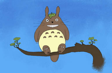 Totoro by AnitaPrime