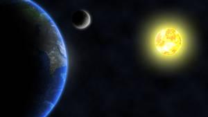 Earth and Moon 2
