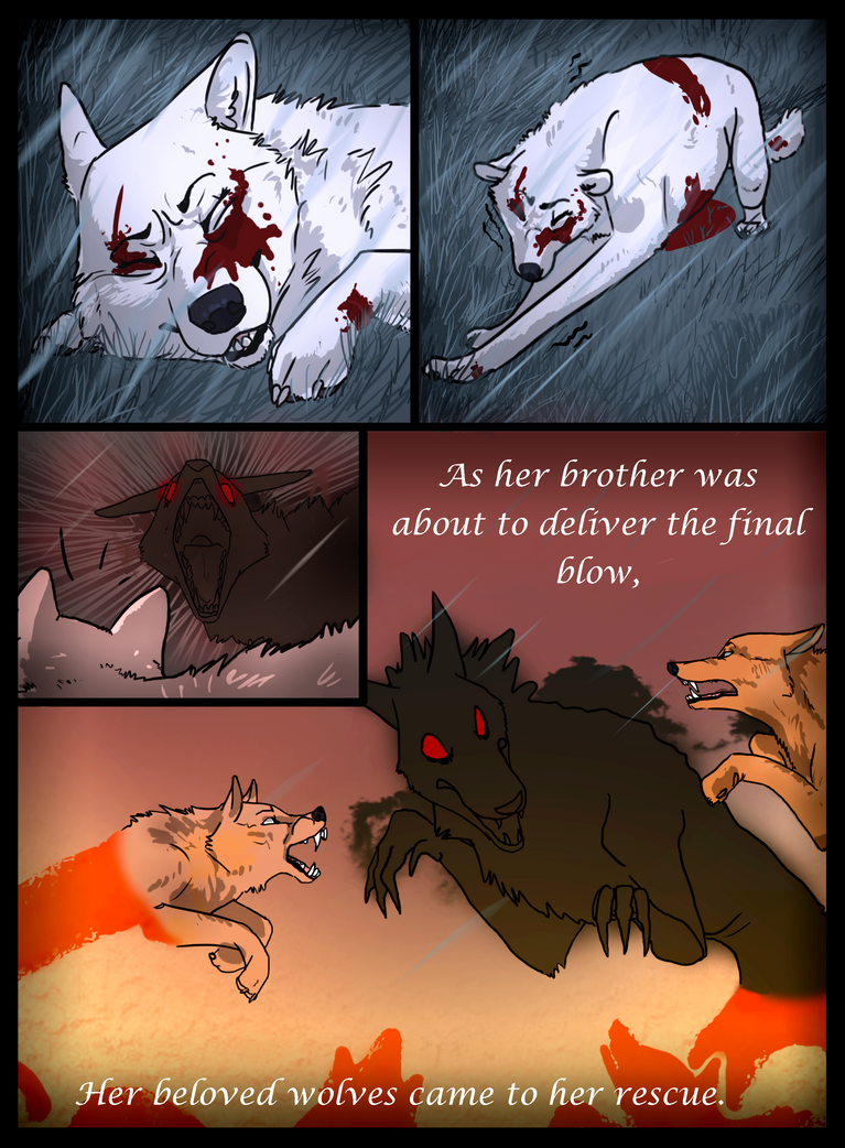Mana Wolves - Prologue - Page 2 by KeitiBlackWhiteWolf
