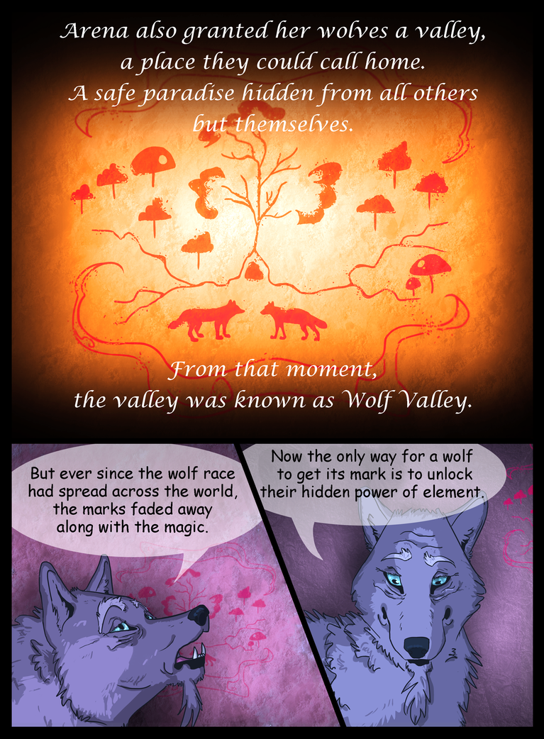 Mana Wolves - Prologue - page 4 by KeitiBlackWhiteWolf