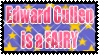 Edward cullen is a fairy stamp by AliceSacco