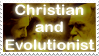 rRChristian Evolutionist stamp by AliceSacco