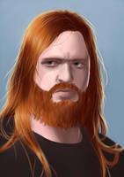Olav portrait colour by AliceSacco