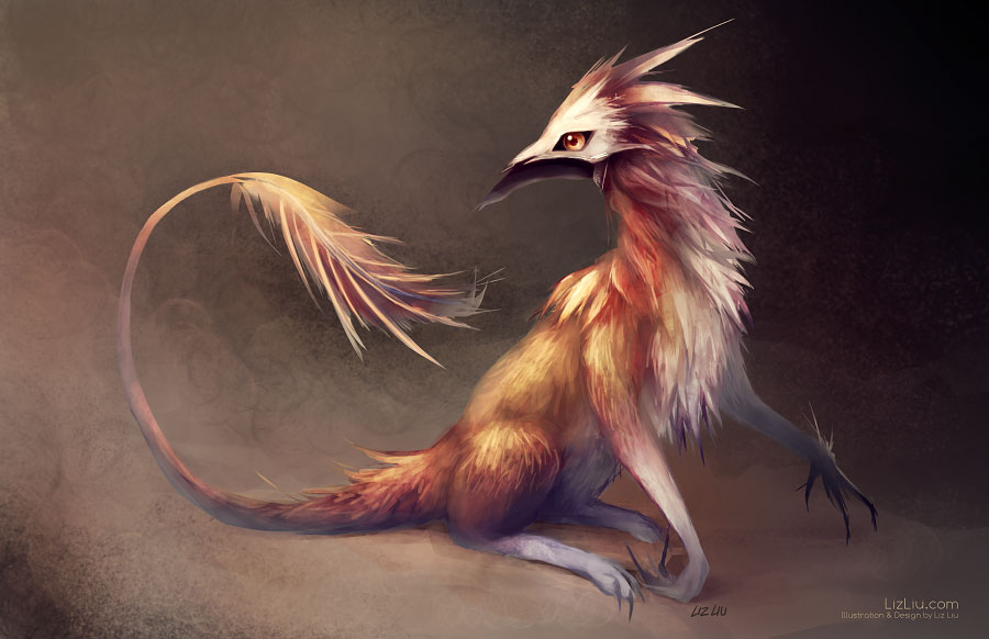 Bestiaire Masked_mammalian_creature_by_landylachs-d5fh246